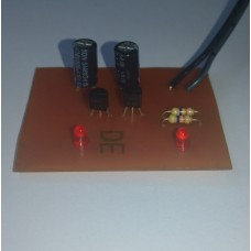 Multi-vibrator (2LED) PCB Kit