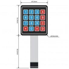 4 x 4 membrane Keypad